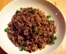 Macht satt und gibt Kraft: Reis und Linsen   Vegan, Low-Fat
