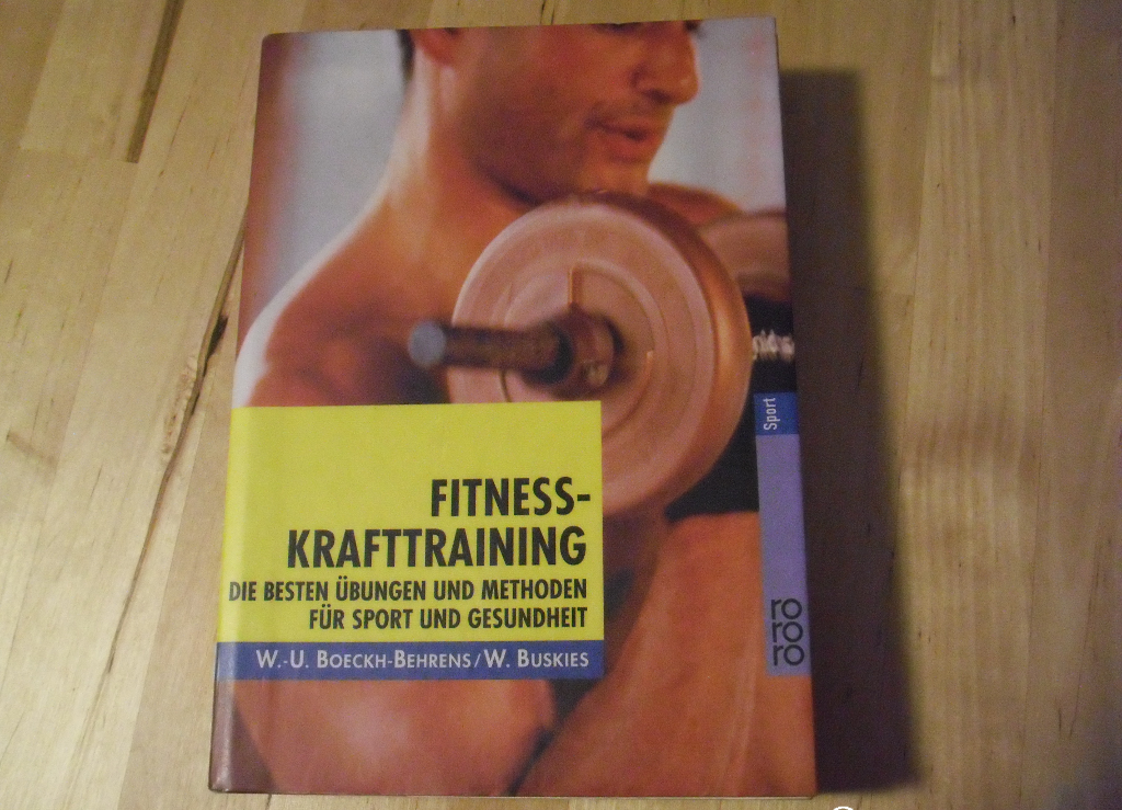 Boeckh-Behrens, Buskies. Fitness-Krafttraining. Front-Cover
