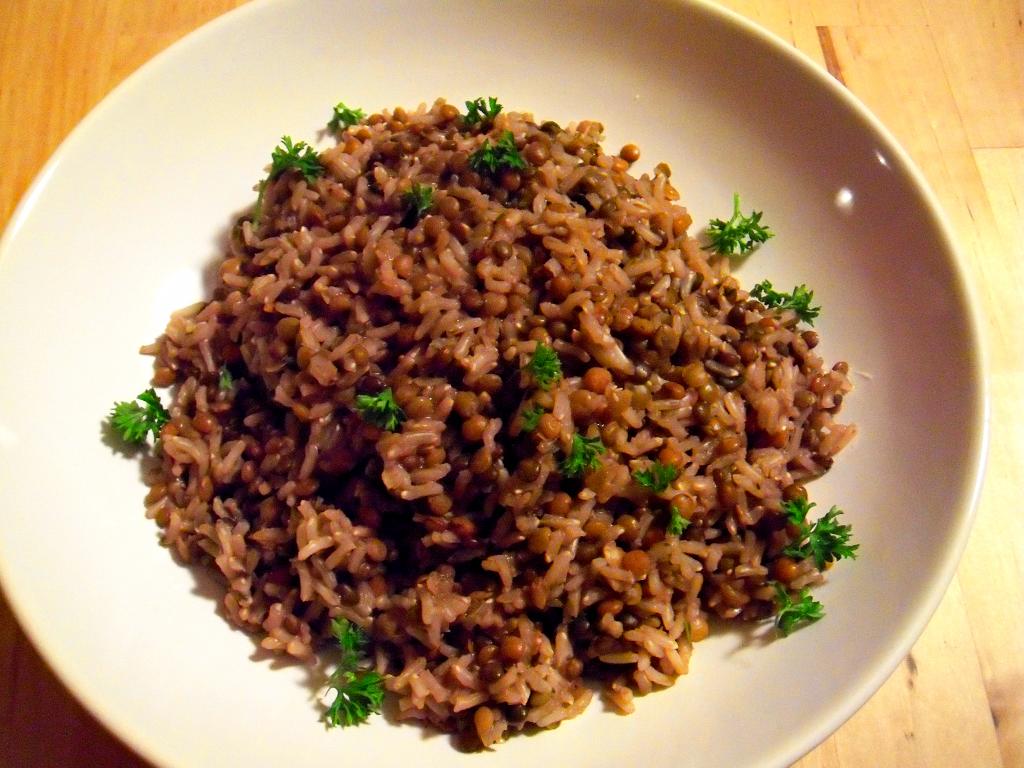 Macht satt und gibt Kraft: Reis und Linsen | Vegan, Low-Fat