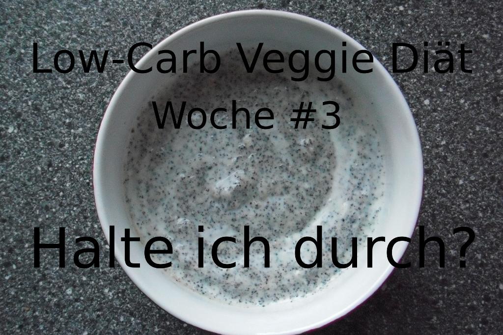 Low-Carb-Veggie-Diät #3. Halte ich durch