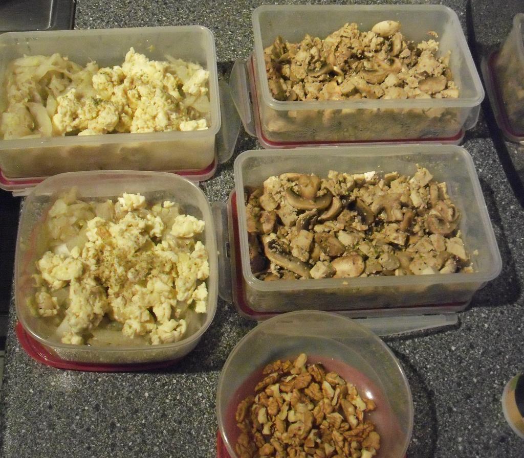 Vorgekochte Low-Carb-Gerichte in der Diät